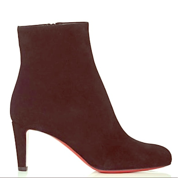 0a48638fadb Christian Louboutin Top Suede Ankle Boots